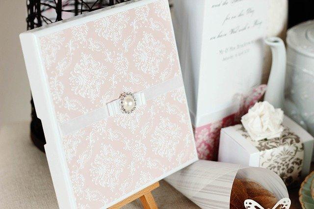 svatební oznámení krabička