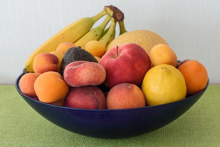 ovoce v míse